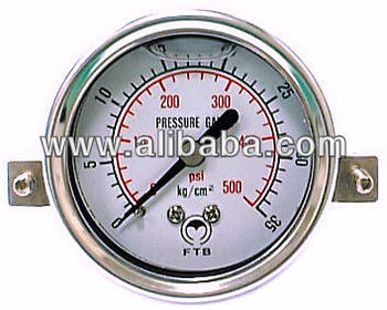 Pressure Gauges With U-bracker, Digital Pressure Gauges