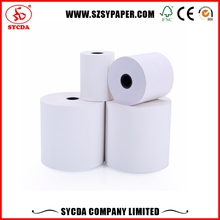 Waterproof Money Receipt Paper Roll thermal fax paper rolls 65g