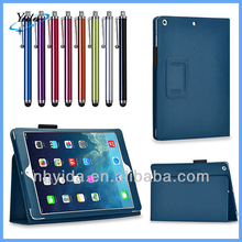 Dark Blue Stand Leather Cover For iPad Air PU New