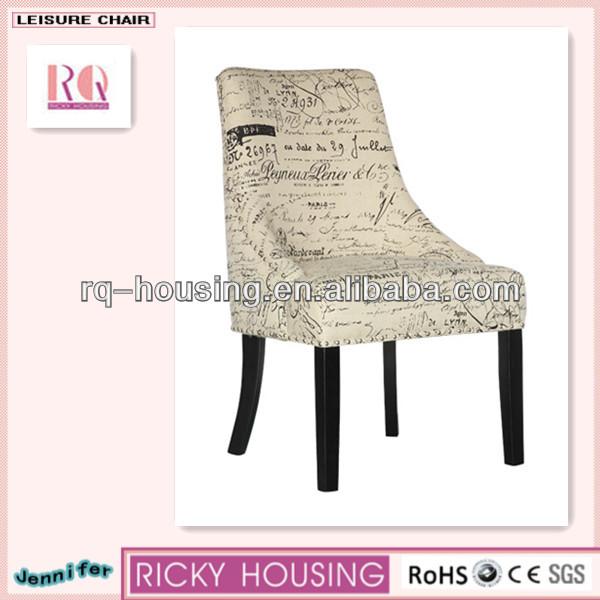De haute qualit chaise de loisirs de luxe en bois chaise - Chaise haute salle a manger ...