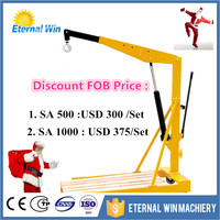 Promotion price Small folded shop crane