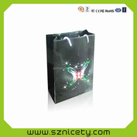 Brand packaging promotional spark paper bag