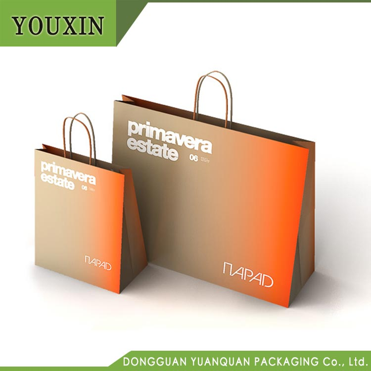 Wholesale Factory Price Luxury Custom Printing Personalised Paper Gift Bags with Logo