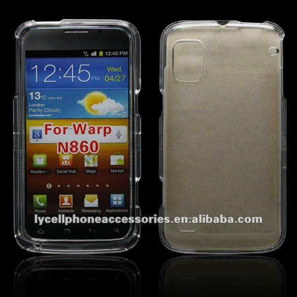 For ZTE Warp N860 New Model Transparent Crystal Cell Phone Case
