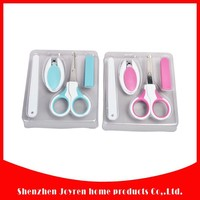 Cover round tip baby nail scissors