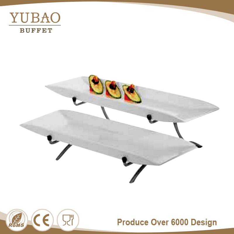 Factory price sushi display serving boat plate, cold and hot food serving plate
