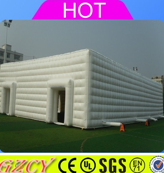 Factory price large inflatable tent, commerial used tent inflatable for rental