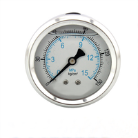 axial stainless steel magnehelic pressure gauge with CE