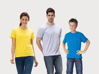 New Style WAVE TEE Shirt- 190gsm 100% Ring Spun Cotton Family Matching Clothing