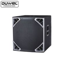 Competitive Price Popular dual 18 inch subwoofer box