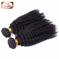 Unprocessed Malaysian hair cheap malaysian kinky curly hair weave kinky baby curl hair