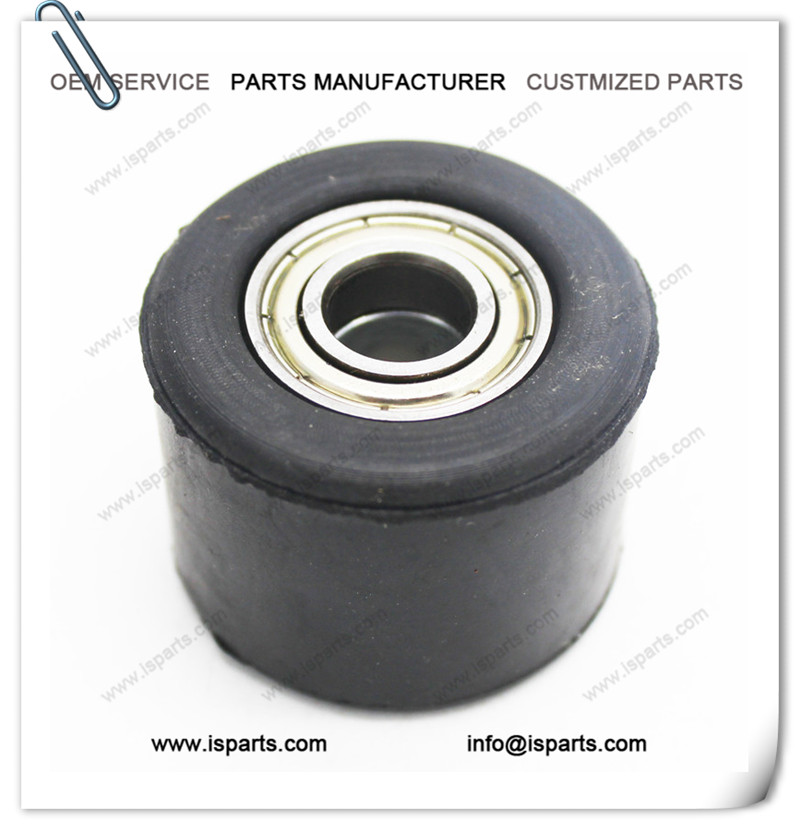 Rubber Chain Roller Wheel Guide Bearings For Motorcycle