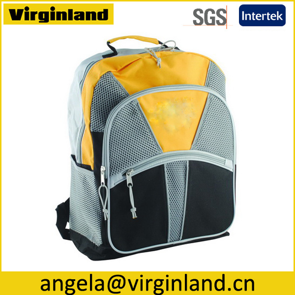 Wholesale Hot Style Design 600D Middle School Book Bag With Custom Logo