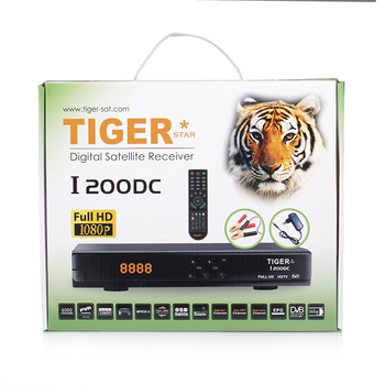 Digital satellite receiver for Tiger star I200DC dvb s2 hd box support USB WIFI,3G