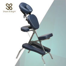 Beauty Salon Folded Metal Portable Massage Table Chair