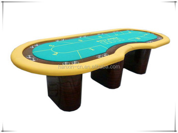 Casino gaming Texas Hold`em Three legs Poker table for sale