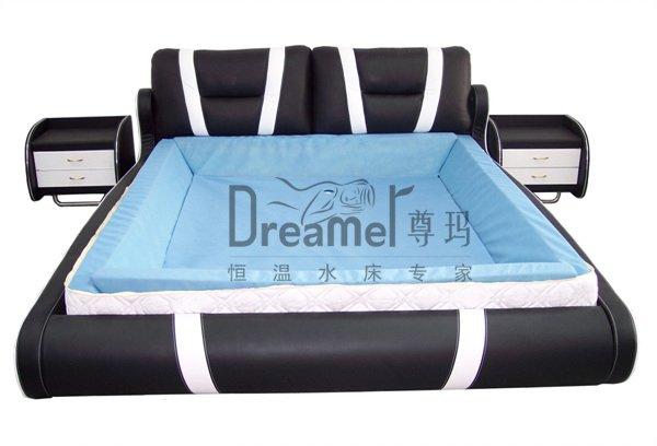 hautement qualit lit matelas d 39 eau et mousse m moire rails matelas id de produit 385354202. Black Bedroom Furniture Sets. Home Design Ideas