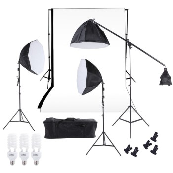Professional portable photography studio equipment