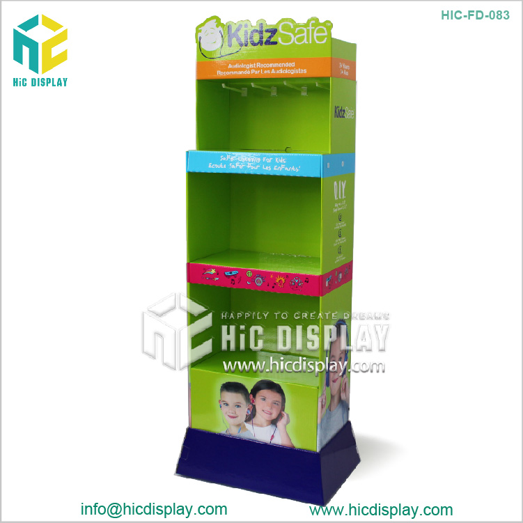 electronics cell phone case display rack ,cell phone accessory display rack,cardboard display rack with trade assurance