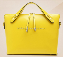 fashion Wholesale Woman Leather Bag Handbag Bamboo Bags Handbags