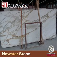 Natural white calcutta gold marble slab calacatta gold marble slab
