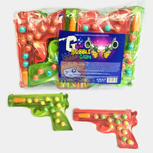 Gun shape bubble gum for kids, bubble gum for kids