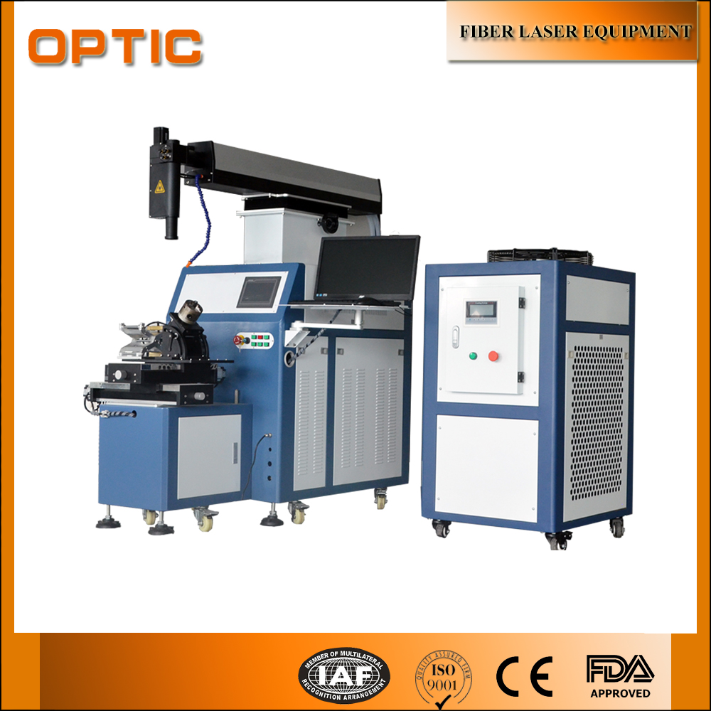 Hot Sale 400W Four-axis laser welding machine for sale