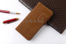 Leather Case Stand Flip Wallet Cover with Card Holder for Sony Xperia L S36h for Sony SP M35h/ ZL L35h / Z L36h