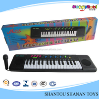 32 key educational electric musical keyboard with microphone