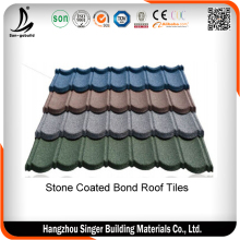 3. Colorful classic metal roofing sheet,stone coated steel roof tiles with cheaper price