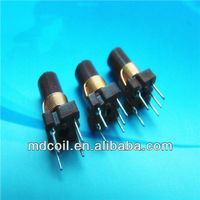 Adjustable inductor/variable molded coil
