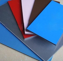 PVDF Coated FR external wall material outdoor wall panels composite aluminum sheets