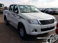 2015 DOUBLE CAB 4X4 2.5 TURBO DIESEL 5 SPEED MANUAL LHD TOYOTA HILUX