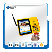 android ios protable eft dual screen touch pos payment terminal machine for supermarket -HPS580