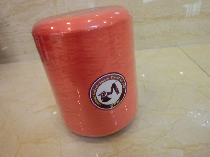 Dyed pattern high strength polyester socks sewing thread