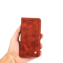For iphone 5 5s Leather Full Cover Flip Mobile Phone Case