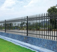 2017 hot sale cheap steel palisade fencing,second hand palisade fencing for sale with credit for security