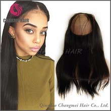 Best selling 360 lace frontal wig cap straight hair