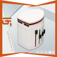 Hot Sale Travelling Gifts Items DC 110-250V Travel Power Adapter