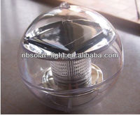 led garden ball light,led ball light outdoor color plastic solar Water ball garden light