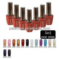 CBD12ml 3in1 one step color soak off nail gel color art uv led gel nail art gel nail polish color 169-192