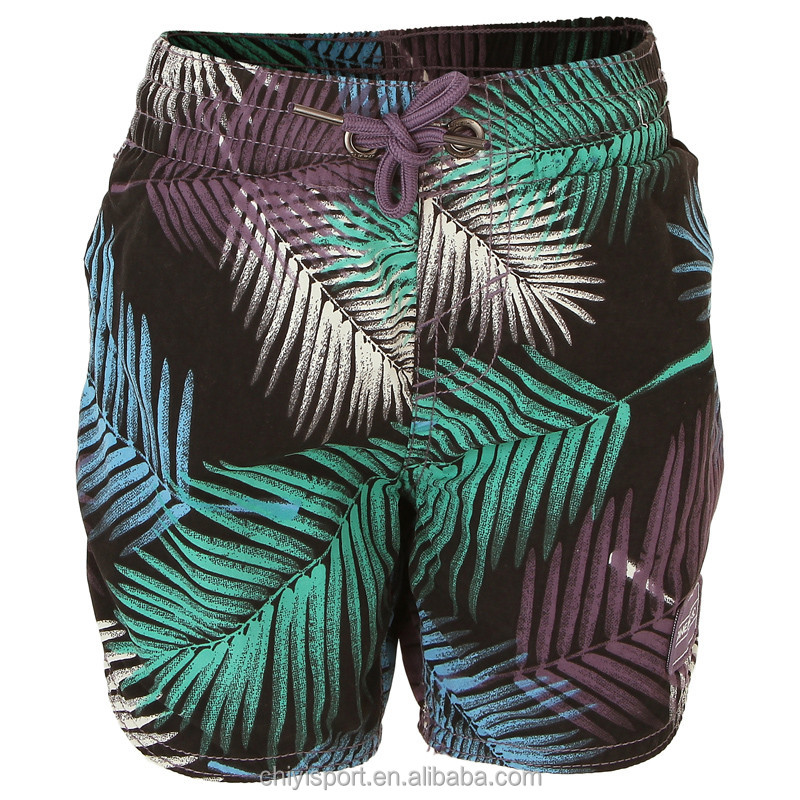 printed swimwear 2016 xxx young boys quick dry boardshorts