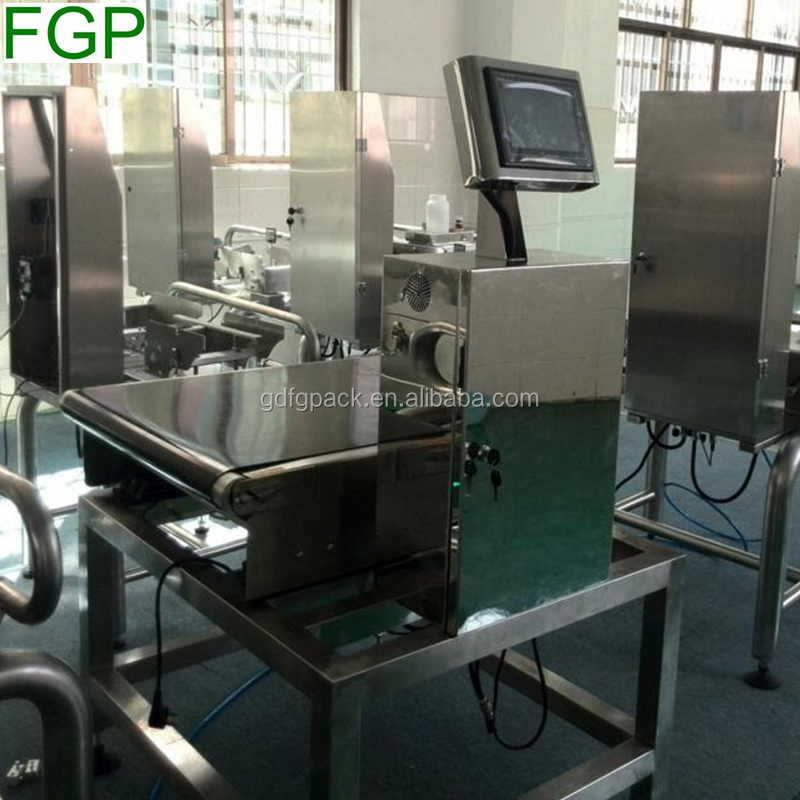 Hot sale full automatic check weigher / online weight checker machine for sales