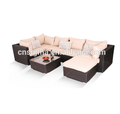 Sigma clearance patio furniture garden lounge suite italian plastic sofas