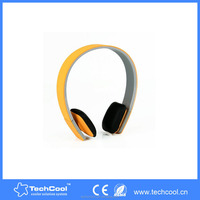 five star eletronics silicon made hands free color retractable mobile phone gaming wireless bluetooth headphone