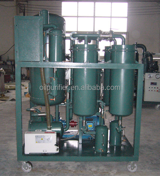 2017 High Quality Turbine oil filtration system TY