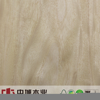 China Manufacturer face veneer figured primavera wood veneer furniture and door disign