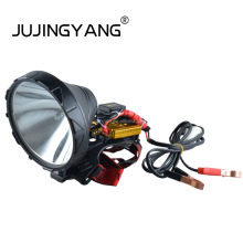 Hight srtength ABS plastic shell 100W headlamp with far range light