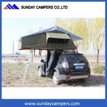 China made 4x4 Hard shell Fiberglass car roof top tent for sale
