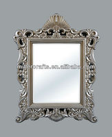 Antique PU material wall mirror GY-104P-02